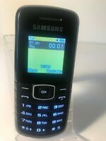 Samsung E1080T - Black (Unlocked) Mobile Phone - Fully working and tested