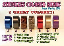 Duck Call Stainless Band Custom Powder Coat Series - One Band is $6.87