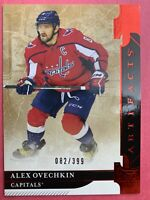 2019-20 Upper Deck Artifacts Ruby #145 Alex Ovechkin 82/399 Washington Capitals