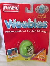 New Vintage Playskool Weebles Toy 5236/5241 Caucasian Boy 1995 Hasbro