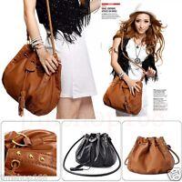 UK Womens Ladies Designer  Celebrity Tote Bag Leather Large Shoulder Handbag Bag