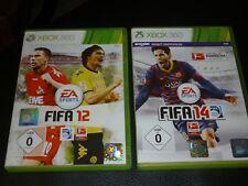 Fifa 12 und 14 Microsoft Xbox 360 DVD Box