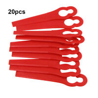 Red Plastic Blades for EINHELL AT BG-CT GE-CT RG-CT 18 Li Strimmer Trimme FZC
