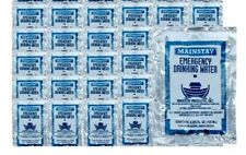 Emergency Drinking Water (30x4.2oz. Pouches) 5 Year Shelf Life USCG Approved