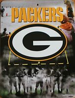 Green Bay Packers Sign NFL Licensed Football Game Sports 8.5x11 wall picture