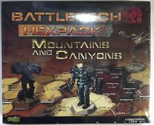 BattleTech HexPack Mountains and Canyons by CATALYST Click for more Savings!