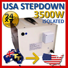 3500 Watt ISOLATED Step Down Transformer  240V - 110V StepDown SD110-3500