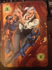 DC Overpower IQ Strength Level 5 Power Card Comm. Gordon & the G.C.P.D. X2 Mint