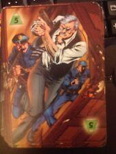 DC Overpower IQ Strength Level 5 Power Card Comm. Gordon & the G.C.P.D. X2 Mint