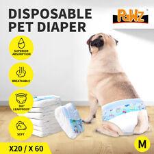 PaWz Pet Diaper Disposable Puppy Training Nappy Sanitary Pants Underpant Dog M