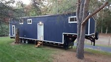 Tiny Home on a gooseneck mobile house trailer - a/c - heat - generator