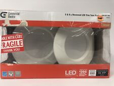 "Commercial Electric Twin Pack 5"" & 6"" LED Soft White Recessed Trim New"