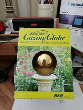 New listing Echo Valley Mirror Ball Stainless Polished Gazing Garden Globe Gold or Silver
