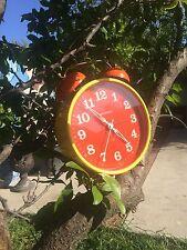 vintage clockalarm wedgefield  made in west germany
