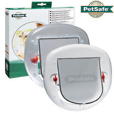 Staywell Petsafe 270 Clear / 280 White Big Cat Small Dog Pet Door 4 Way Locking