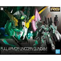 BANDAI RG 1/144 RX-0 FULL ARMOR UNICORN GUNDAM Plastic Model Kit Gundam UC NEW