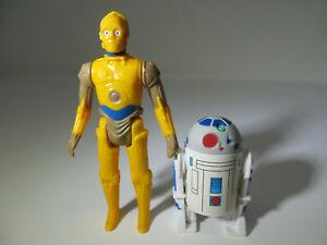 Repro R2-D2 & C-3PO Droids Cartoon vintage-style Star Wars Stan Solo figures