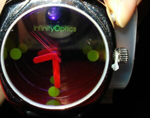 The Infinity Optics Watch with Built-In Black Light Can You Imagine In Box