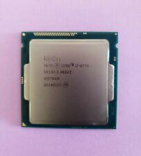 Intel Quad Core i7-4770 3.40GHz Desktop CPU Processor SR149