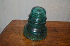 Hemingway Aqua Green Insulator Beaded #40