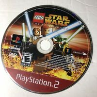 LEGO Star Wars: The Video Game - Playstation 2 PS2 Game Disc Only Tested