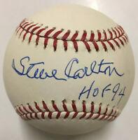 STEVE CARLTON Autographed Signed Baseball PSA/DNA AH34582 Phillies