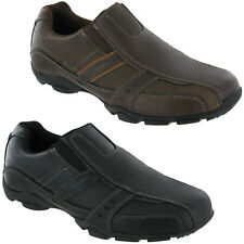 Skechers Marter - Kool Digz Trainers 999747 Mens Leather Memory Foam Shoes