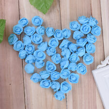 200Pcs Fake Artificial  Foam Rose Flower Heads Blossom Party Home Room Decor LOT