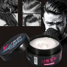 100g Long-lasting dry stereotypes type hair clay new hair wax for short hair