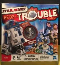 Trouble Star Wars R2-D2 Is In Trouble Board Game By Hasbro 2009 Complete