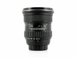 Tokina 11-16mm f2.8 AT-X Pro DX Nikon Fit Lens