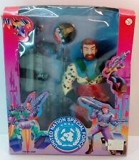 Vtg 1995 Hil Hinstar United Nation Special Force Grey Wolf Gi Joe Like Doll New