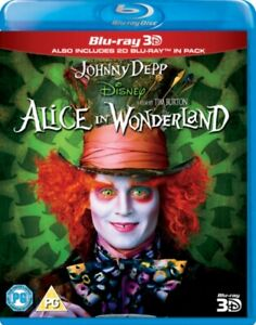 Alice in Wonderland 3D BLU-RAY NEW & SEALED*