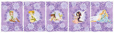 Wall Sticker Set Tinkerbell Fairy Friends Reusable Children Room Decor NEW