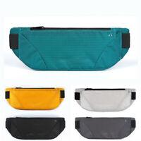 Waterproof Running Belt Bum Waist Pouch Fanny Pack Camping Sport Hiking Zip Bags