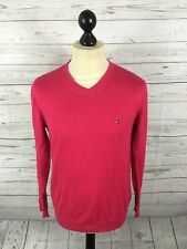 TOMMY HILFIGER Jumper - Small - Pink - Great Condition - Men's