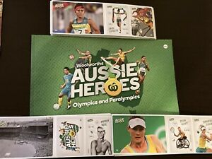 Woolworths  Aussie Heroes sticker pack collection  Olympic/Paralympic You Choose