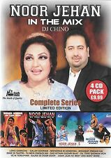 NOOR JEHAN IN THE MIX DJ CHINO - COMPLETE SERRIES - LIMITED EDITION - 4 CDs SET