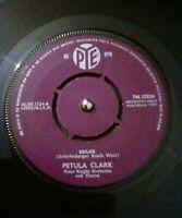 """Petula Clark – Sailor Vinyl 7"""" Single UK Pye 7N 15324 1961"""