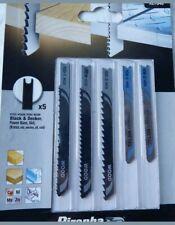 Black & Decker X27040 Jigsaw Blades 5 pcs Assorted Aluminium wood metal cu ni zn