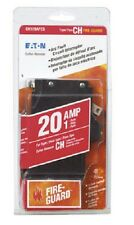BRAND NEW EATON CH120AFCS FIRE-GUARD 20 AMP 1 POLE CIRCUIT BREAKER
