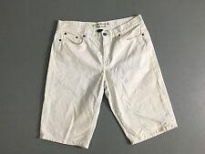 """Women's Lauren Ralph Lauren Denim Shorts  - Waist 34"""" - White - Great Condition"""