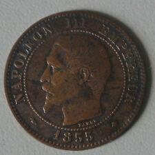 NAPOLEON III 2 CENTIMES 1855 BB   TB  a  TTB