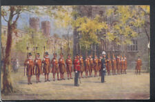 London Postcard - Beefeaters, Tower of London       RS15481