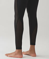 Lululemon Wunder Under Pant HR* Infinite. BLK. Size 12