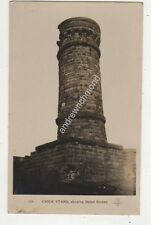 Crich Stand Showing Dated Stones Derbyshire Vintage RP Postcard Blount 703b