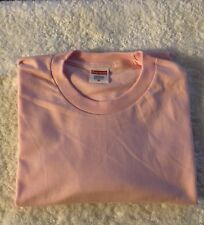 Supreme Blank Tee Pink Size Medium Short Sleeve