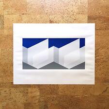 Josef Albers Serigraph Print Formulation: Articulation PII F23 1972 Blue Gray