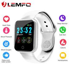 Lemfo I5 Reloj inteligente pulsera corazón ritmo sangre presión de oxígeno para Samsung Apple