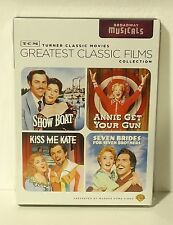 TCM Greatest Classic Films - Broadway Musicals (DVD, 2009, 2-Disc Set) NEW